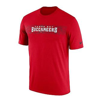 Nike Nfl Tampa Bay Buccaneers Sideline Seismic Legend Performance T-shirt