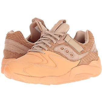 Saucony Mens Grid 9000 HT Leather Low Top Lace Up Trail Running Shoes
