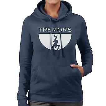 Tremors MinimalWomen's Hooded Sweatshirt