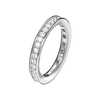 Joop women's ring silver zirconia TAYLOR JPRG90788A