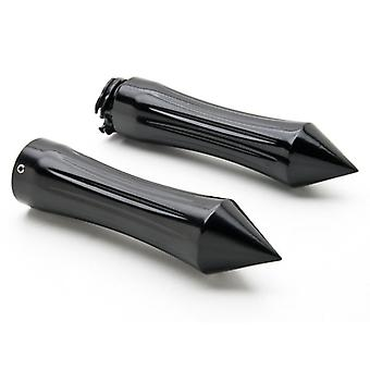 Motorcycle Hand Grips 1 Inch Handlebar Bars Pair For Harley Davidson Dyna Glide Low Rider