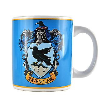 Harry Potter Cup Ravenclaw Crest, coat of arms of white, printed, ceramic, capacity approx. 350 ml.