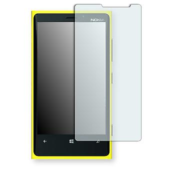Nokia Lumia 920 screen protector - Golebo Semimatt protector (deliberately smaller than the display, as this is arched)