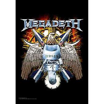 Megadeth - Eagle -Flag
