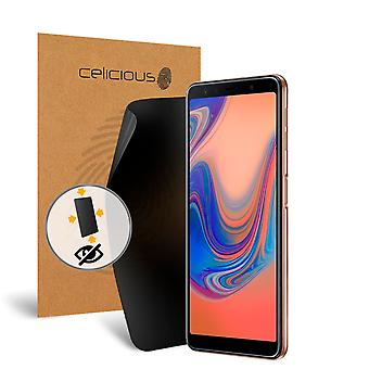 Celicious Privacy Plus 4-Way Anti-Spy Filter Screen Protector Film Compatible with Samsung Galaxy A7 (2018)
