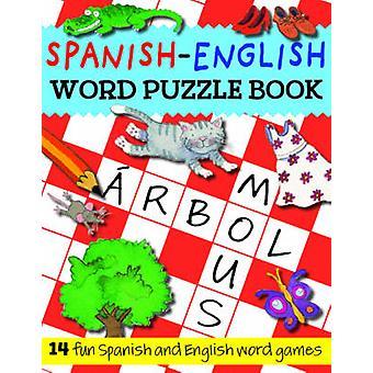 Spanish-English Word Puzzle Book by Catherine Bruzzone - Rachel Croxo
