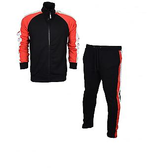 Criminal Damage Factory Tracksuit Black/multi