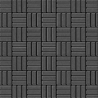 Metal mosaic Titanium ALLOY Basketweave-Ti-SB