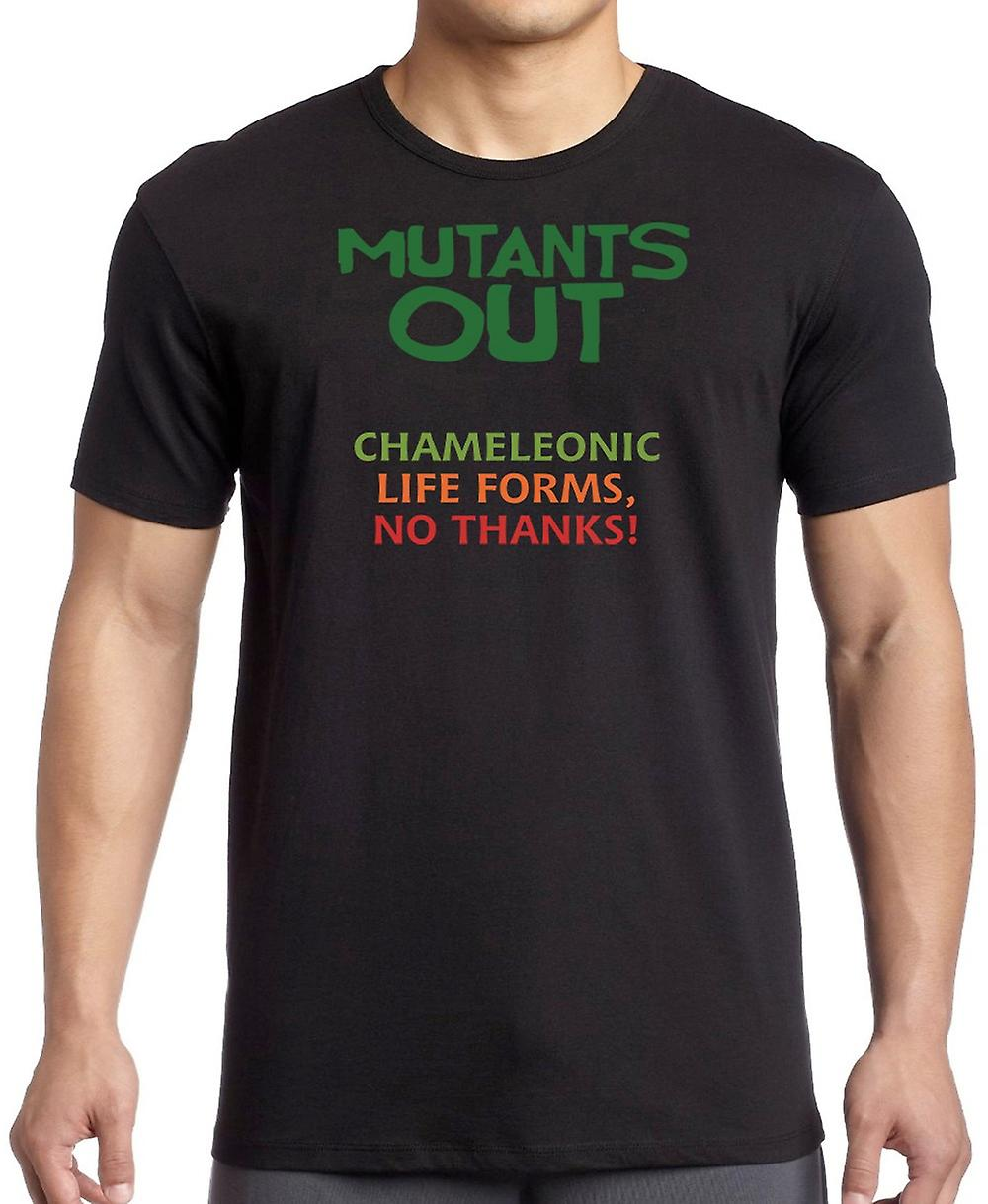 Mutants Out - Chameleonic Life Forms - No Thanks Women T Shirt