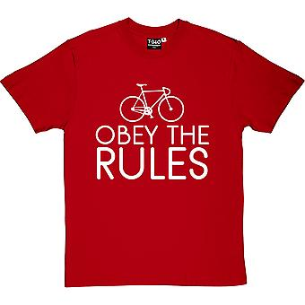 Obey The Rules Men's T-Shirt