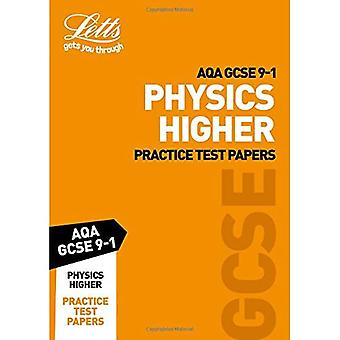AQA GCSE Physics Higher Practice Test Papers - Letts GCSE 9-1 Revision Success (Paperback)