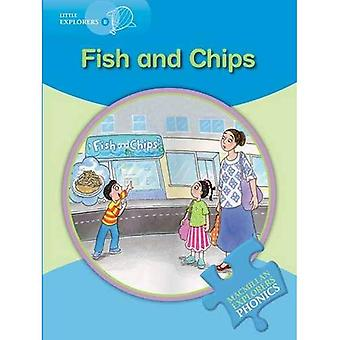 Pequenos exploradores b: peixes & Chips (Macmillan exploradores ingleses Phonics série de leitura)