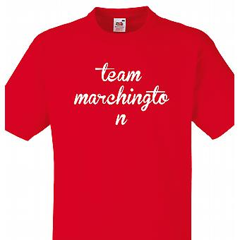 Team Marchington Red T shirt