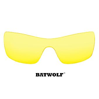 Batwolf Replacement Lenses Hi Intensity Yellow by SEEK fits OAKLEY Sunglasses