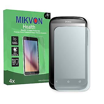 HTC Desire X Screen Protector - Mikvon Health (Retail Package with accessories) (reduced foil)