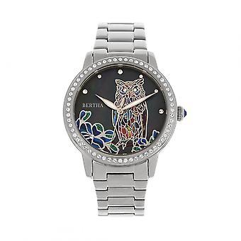 Bertha Madeline MOP armband Watch - Silver