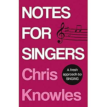 Notes for Singers