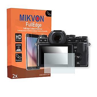 Fujifilm X-T1 screen protector - Mikvon FullEdge (screen protector with full protection and custom fit for the curved display)
