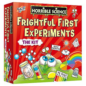 Horrible Science Frightful First Experiment