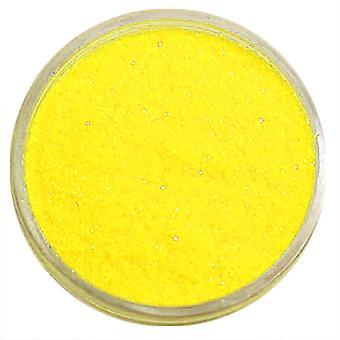 1pc Fine glitter gelb