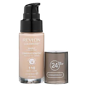 Revlon Colorstay Makeup Combination/Oily Skin - 110 Ivory 30ml