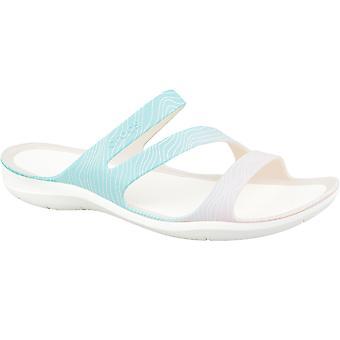 Crocs W sandales de saison à l'eau vive 205637-4IS diapositives femmes