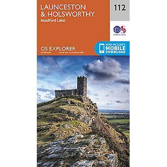 Launceston and Holsworthy (September 2015 ed) by Ordnance Survey - 97