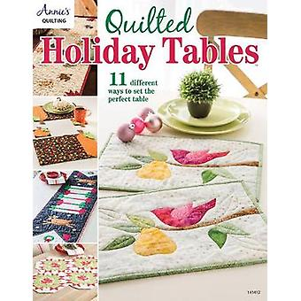 Quilted Holiday Tables - 11 Different Ways to Set the Perfect Table -