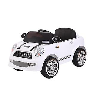 RideonToys4u Mini Cooper stilen barna 12V Electric Ride på bilen med foreldre
