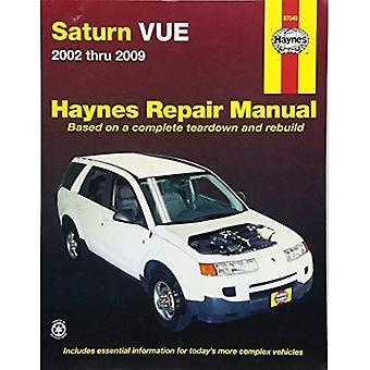 Haynes Repair Manual Saturn Vue