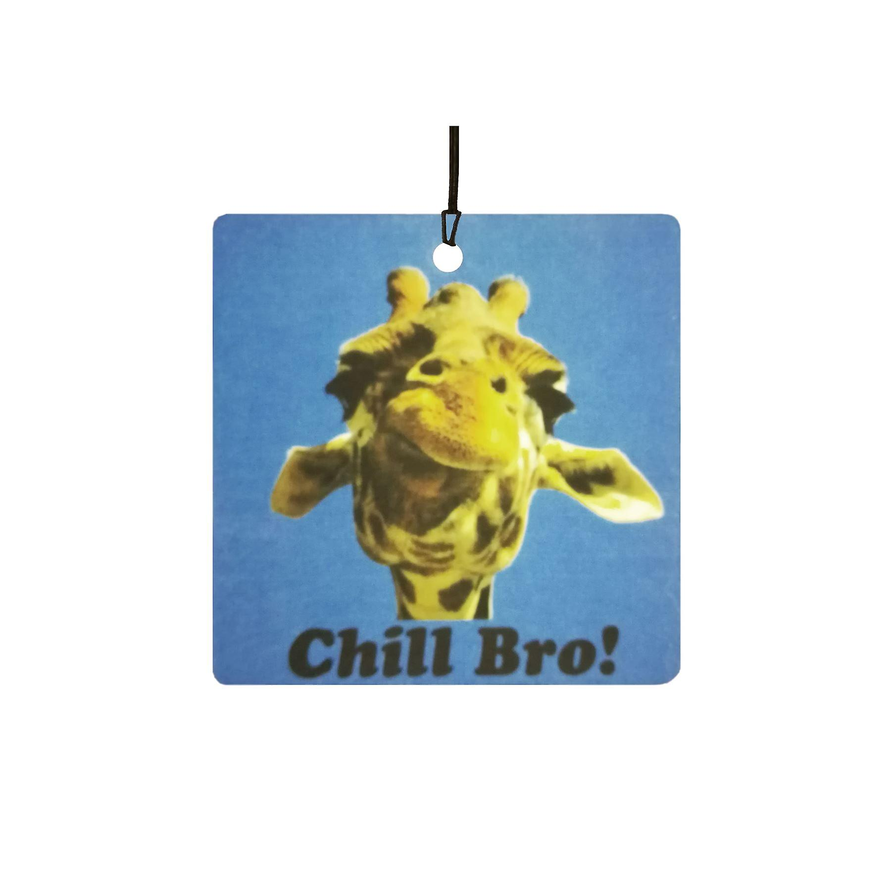 Giraffe Chill Bro Car Air Freshener