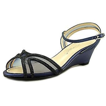 Caparros Womens Hilton Open Toe Bridal Slingback Sandals