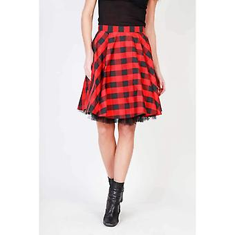 Pinko Women Red Skirts -- 1G12500848