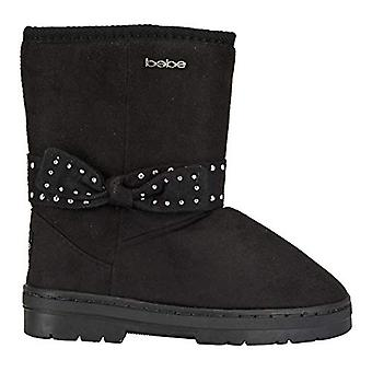 bebe Girls Bottes d'hiver avec Studded Bows Casual Dress Shoes