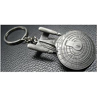 Key Chain - Star Trek - Enterprise D Figure str-0030 Toys Metal New str-0030