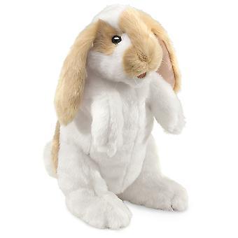 دمية اليد - Folkmanis - أرنب الدائمة لوب الحيوانات الجديدة دمية ناعمة أفخم 2992