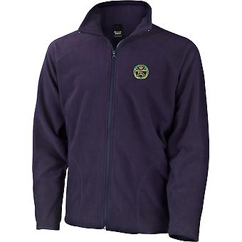 Small Arms School Colour - Licensed British Army Embroidered Lightweight Microfleece Jacket