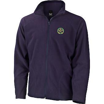 Kleine Arme Schule Farbe - lizenzierte britische Armee bestickt leichte Microfleece Jacke