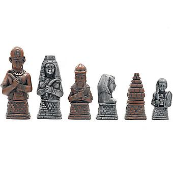 Berkeley Chess Egyptian Metallic Chess Men