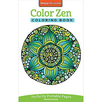 Design Originals-Color Zen Coloring Book DO-5567