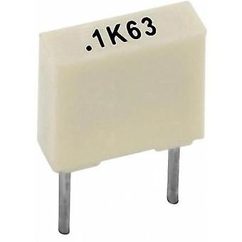 PET capacitor Radial lead 2.2 nF 100 V 10 % 5 mm (L x W x H) 7.2 x 2.5 x 6.5 Kemet R82EC1220AA50K+ 1 pc(s)