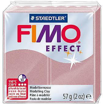 Fimo Effect Polymer Clay 2oz-Rose Pearl EF802-207