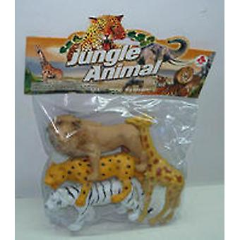 Dimasa Bolsa 4 Animales Selva (Kids , Toys , Dolls , Playsets And Figures , Animals)