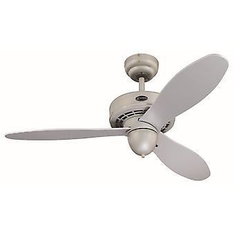 "Westinghouse ceiling fan Airplane 105 cm / 42"" with wall switch"