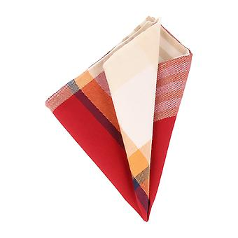 Pattern of society handkerchief Tjader handkerchief Cavalier cloth red blue