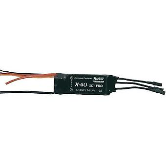Model aircraft brushless motor controller Hacker X-40-SB-Pro BEC