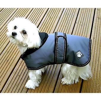 Luksus jakke støvet blå vandtæt hunde frakke 60cm (24