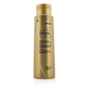 Goldwell Kerasilk Keratin Smooth Medium 2 - Long Lasting Transformation (For Hair Like Silk) 500ml/16.9oz