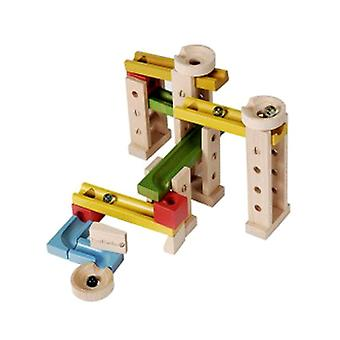 EverEarth 42 Piece Wooden Marble Run