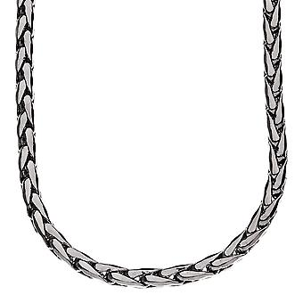 Iced out bling DC FRANCO chain, 5mm black
